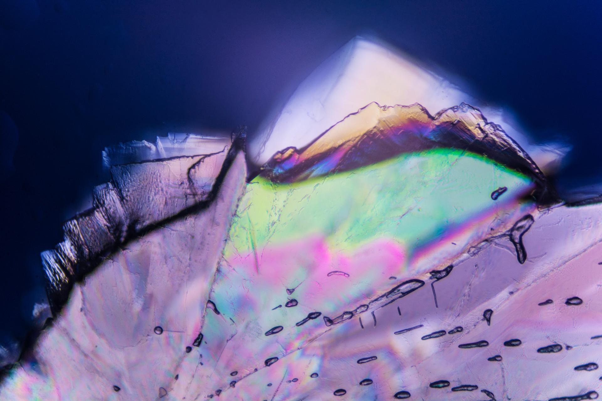 Sugar Crystal, Polarising Filter