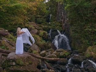 Lodore Falls, Borrowdale, Lake District,