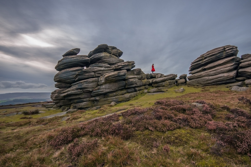 Wheel Stones, Derwent Edge, Peak Distric