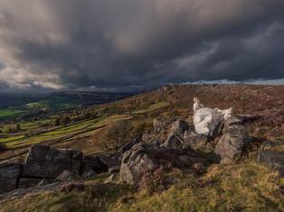 Curbar Edge, Peak District, England