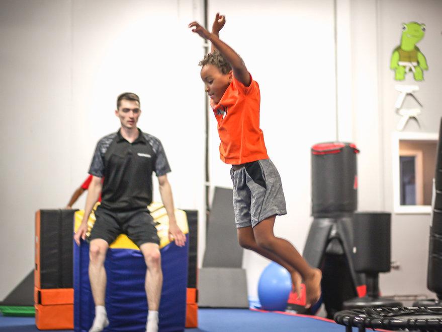 NeoMotion Tricking Karate Gymnastics Tumbling Ninja Warrior Parkour