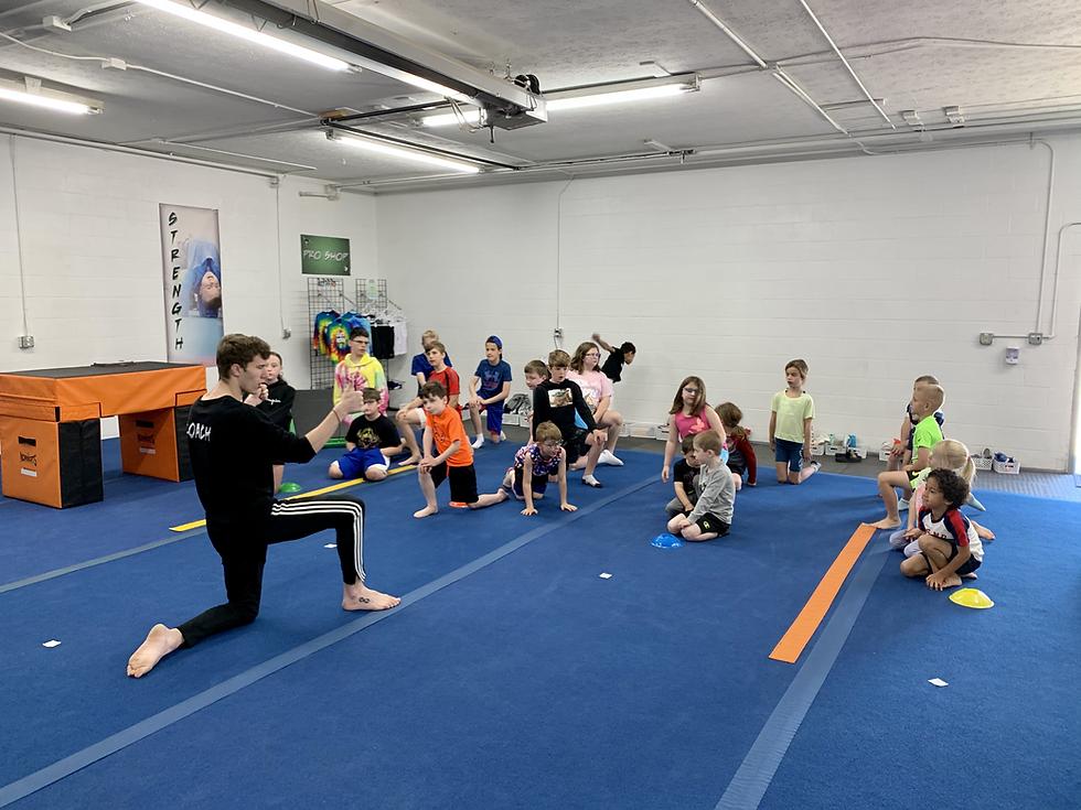 Tricking Gymnastics Karate NeoMotion Kid