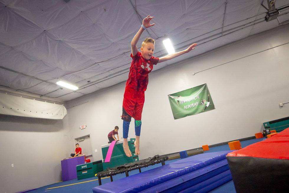 NeoMotion Tricking Gymnastics Karate Tum