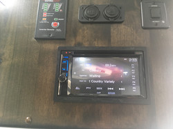 Touch Screen Stereo System