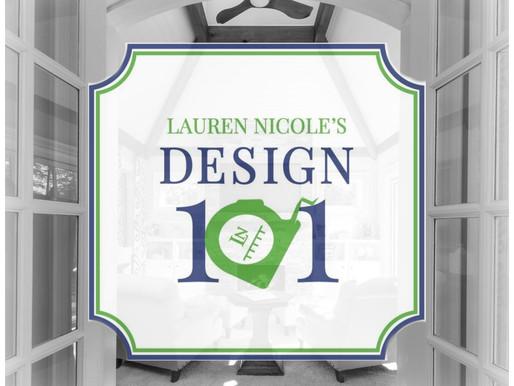 Introducing Design 101: A New Seminar Series