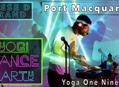 YOGA DANCE PARTY!