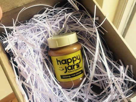 HAPPY JARS natural peanut butter