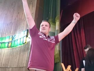 Liepājas darts premjerlīgas čempions izslēdz Razmu, par Latvijas čempionu kļūst Strēlis