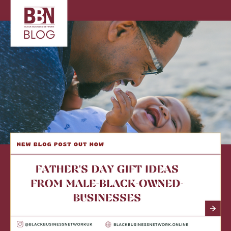 Father's Day Gift Ideas From Male-Black-owned-Businesses.