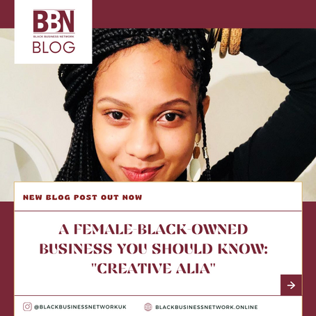 A Black-Owned Business You Should Know: Creative Alia.