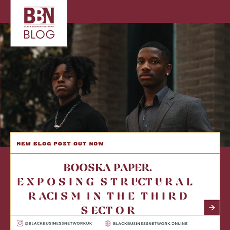 BOOSKA PAPER- EXPOSING STRUCTURAL RACISM IN THE  THIRD SECTOR