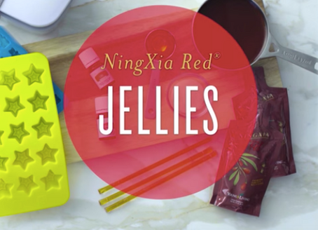 NingXia Red Jellies Recipe with Grapefruit and Lime Essential Oil