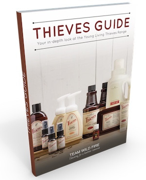 Thieves Guide ebook for purchases at WildEssentialOils.com