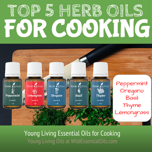 Top 5 herb essential oils for cooking in Australia