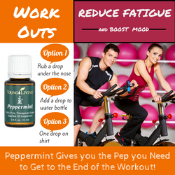 Peppermint for exercise fatigue