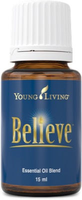 Young Living Believe therapeutic food grade essential oil