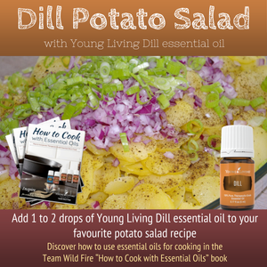 Dill Potato Salad with Dill Essential Oil