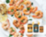 BBQ Prawns Recipe with Edible Food Grade Basil Essential Oil Australi