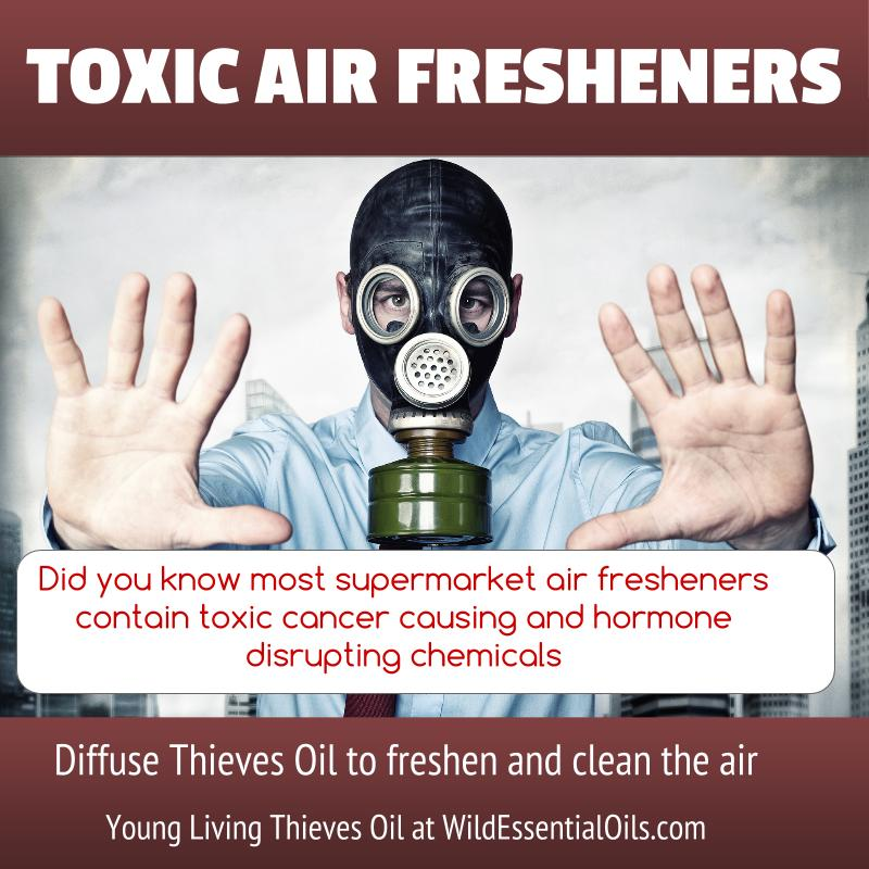 Thieves oil air freshener