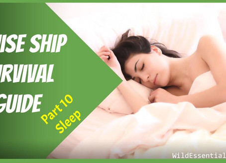 Cruise Ship Survival Guide - Part 10 - More Sleep - Tips for Avoiding Gastro & Staying Healthy