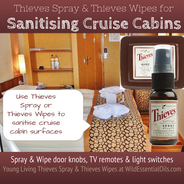 Thieves Spray for Cruise Holidays