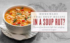 Thai Soup Recipe with Black Pepper Essential Oil Australia