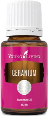 Young Living geranium time therapeutic food grade essential oil