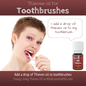 Thieves Oil in for Toothbrush