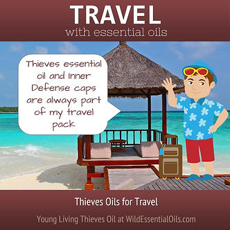Thieves oil fo travel