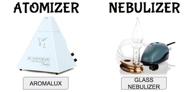Atomizer vs Nebulizer Diffuser