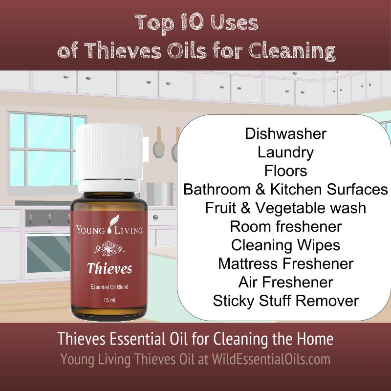 Top 10 uses Thieves oil for cleaning