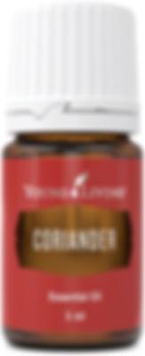 Young Living coriander food grade essential oil Australia