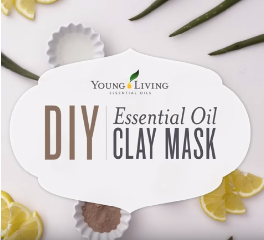 DIY Clay Mask with Geranium Essential Oil