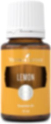 Young Living lemon food grade essential oil