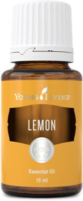 Young Living lemon food grade essential oil