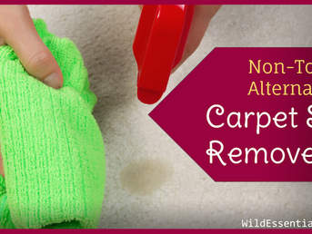Carpet Stain Remover Non-Toxic Alternative - Another Use for Thieves Cleaner