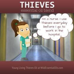 Thieves oil for nurses