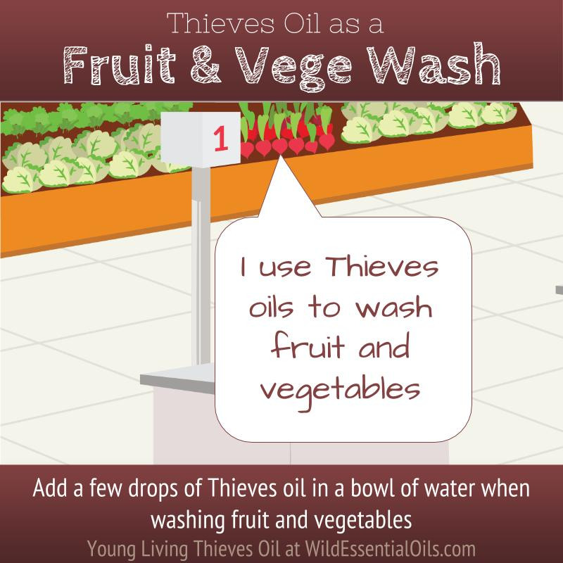 Thieves Oil Fruit and Vege Wash