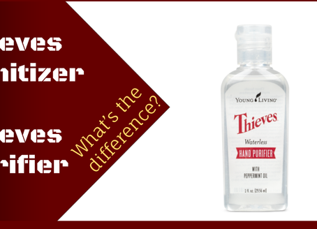 Thieves Hand Sanitizer vs Thieves Hand Purifier