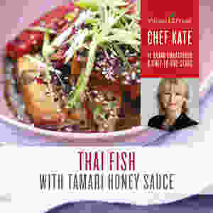 Thai Fish Honey Tamari Sauce Recipe with Lemongrass, Lemon and Lime Essential Oil