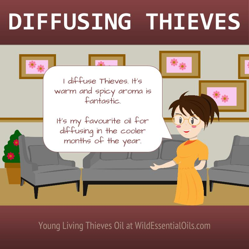 Diffusing Thieves