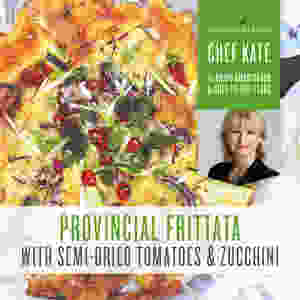 Provincial Frittata Recipe with Lemon and Citrus Fresh Essential Oil