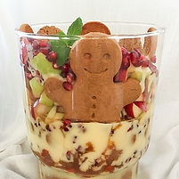 Cinnamon Apple Ginger Snap Trifle Recipe with Cinnamon Essential Oil