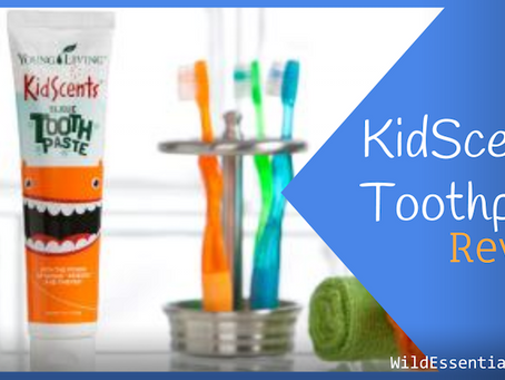 KidScents Toothpaste Review