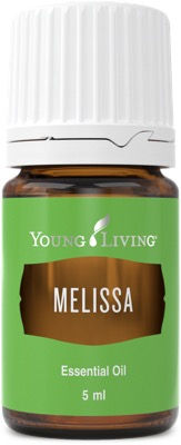 Young Living melissa therapeutic food grade essential oil