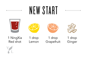 Ningxia Red shot recipe lemon grapefruit ginger