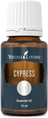 Young Living cypress therapeutic food grade essential oil
