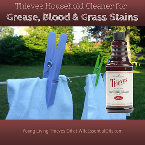 Thieves Cleaner for stain removal