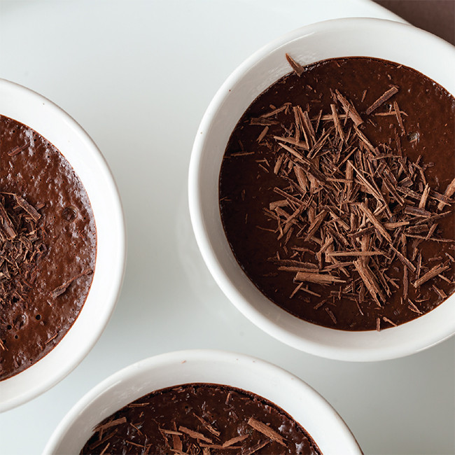 Orange Chocolate Pots Recipe with Orange Essential Oil