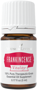 Young Living Vitality Frankincense essential oil for internal use